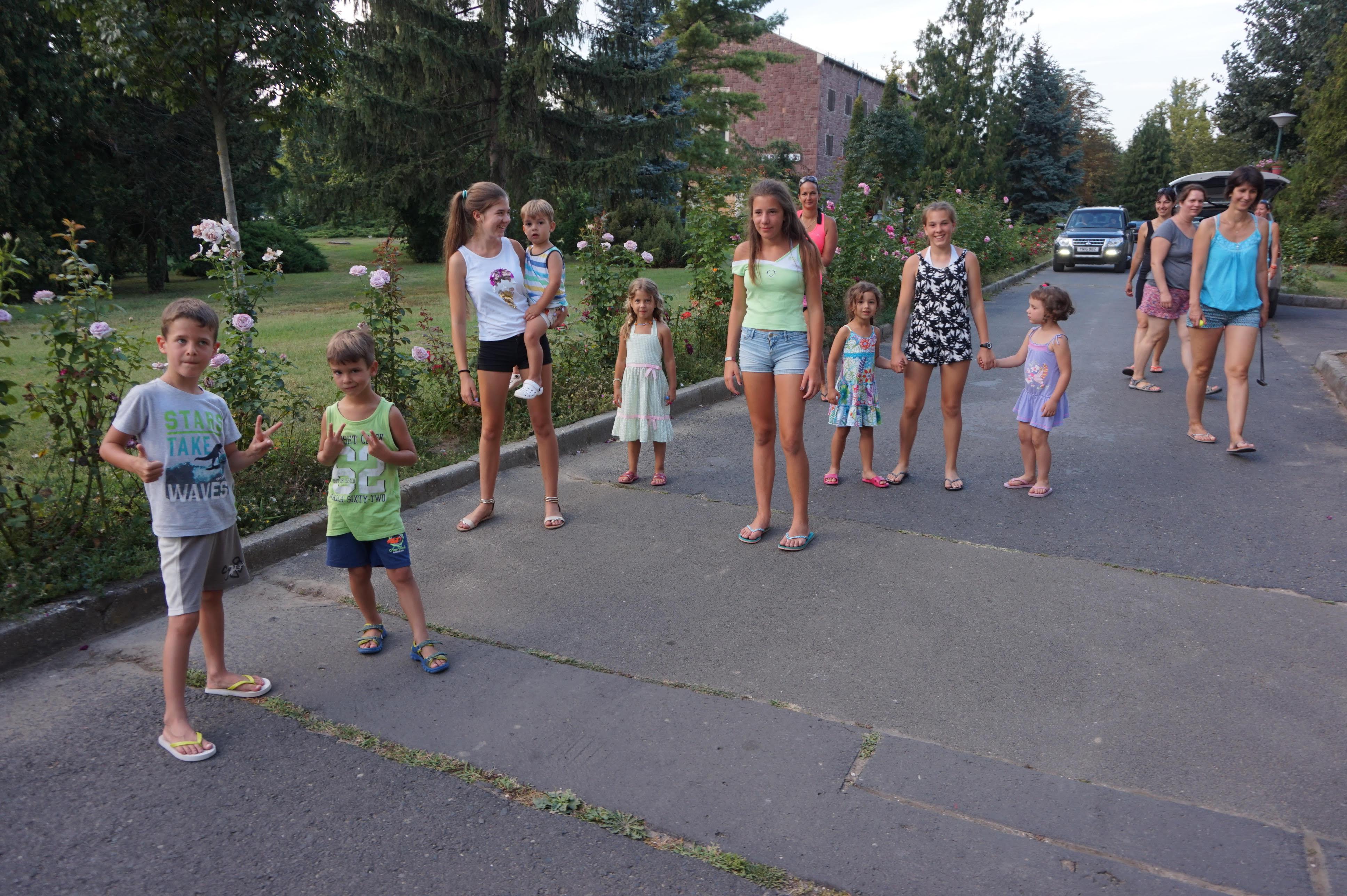 A Családközösség augusztusi nyaralása Balatonföldváron